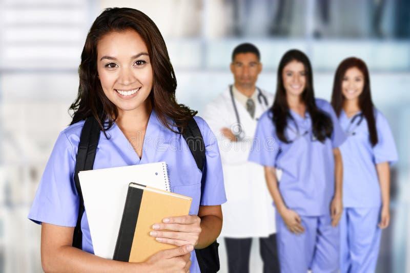 Nursing School Graduate stock image