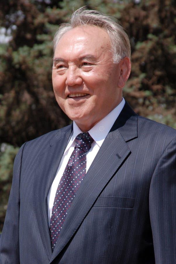 Nursultan Nazarbaev photographie stock