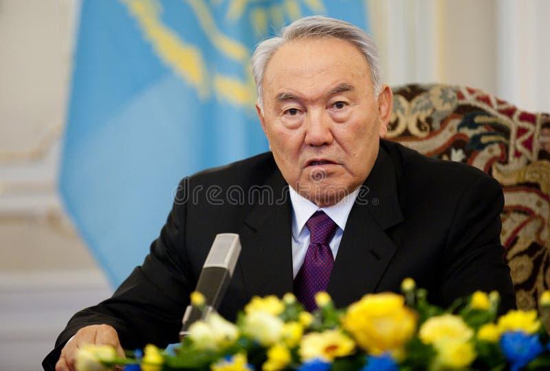 Nursultan Nazarbajev fotografía de archivo