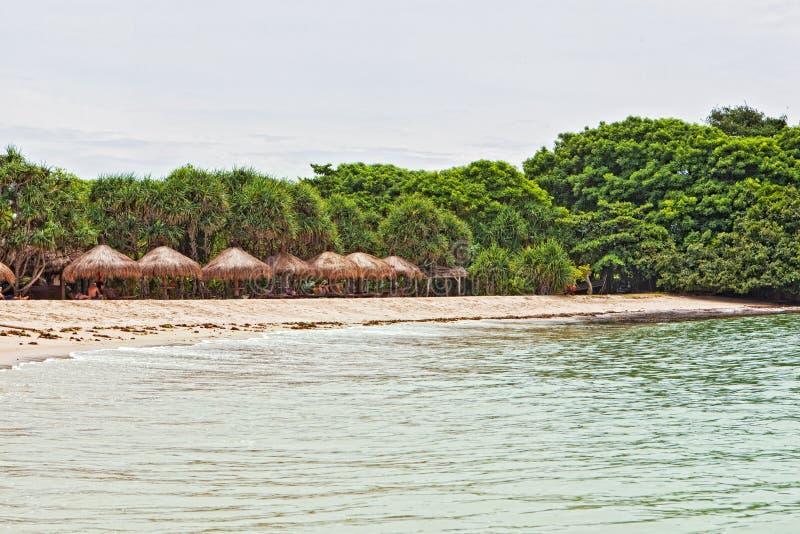 nus s duah пляжа беседок деревянное стоковая фотография rf