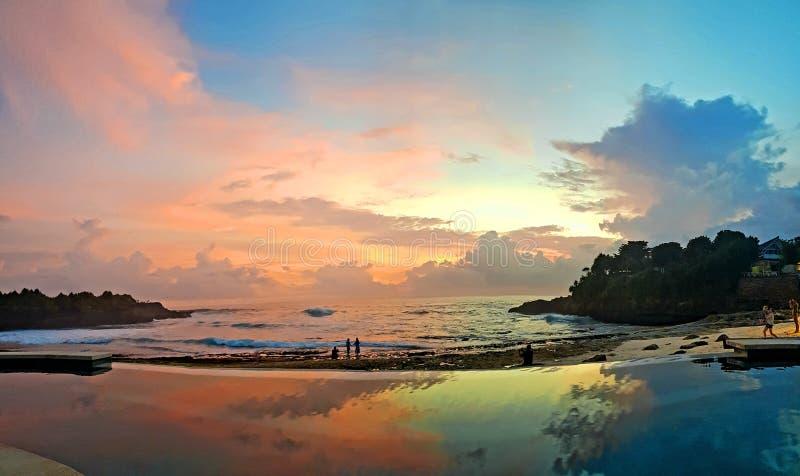 Nusa Lembongan auf Bali obraz royalty free