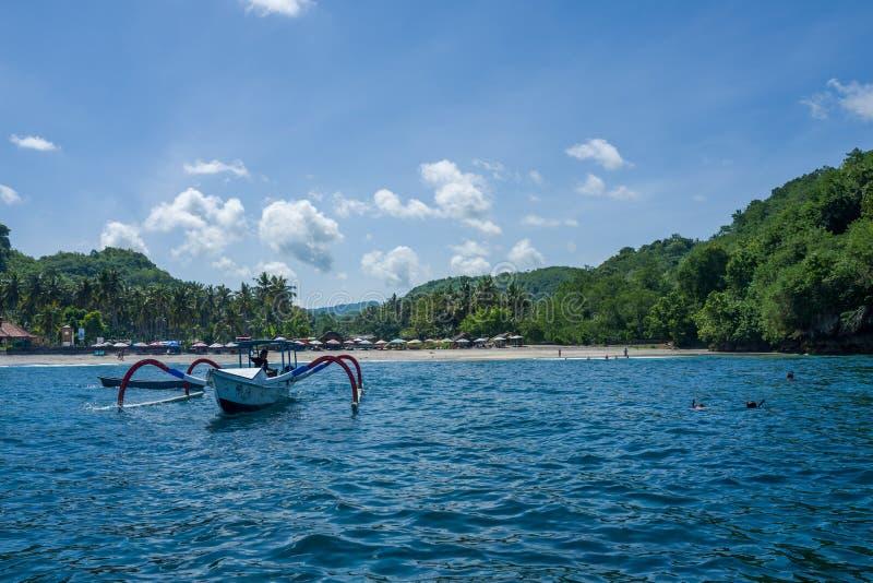 Nusa Penida wyspa w Indonezja obraz royalty free