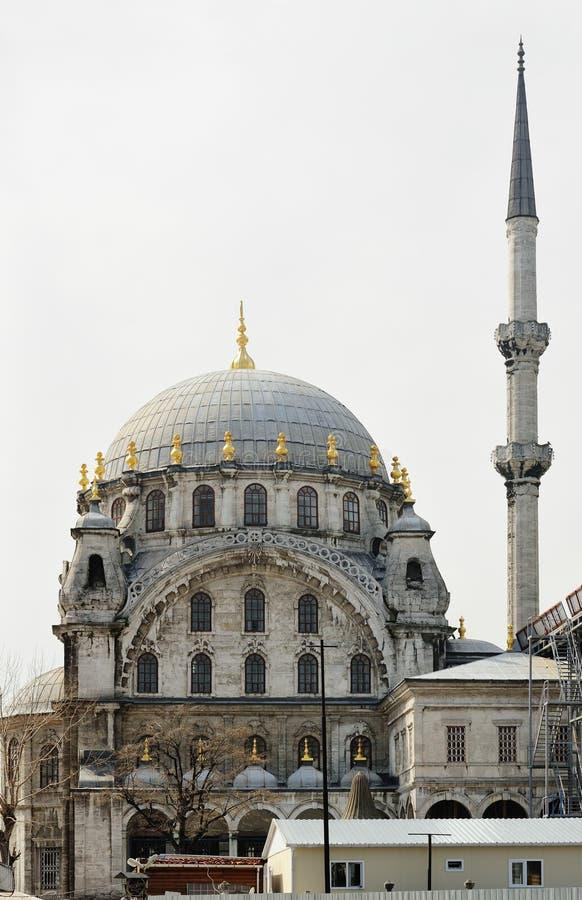 Nusretiye meczet w Istanbuł, Turcja zdjęcia royalty free