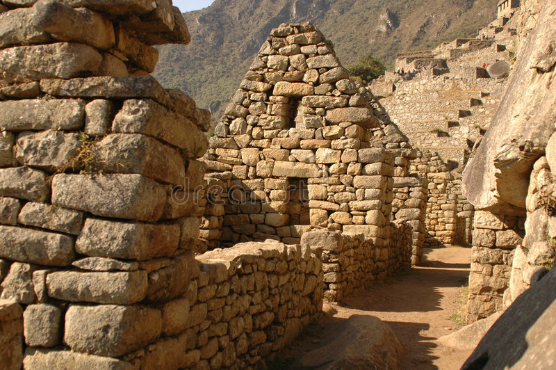 Download Nusta's Bedroom From Machu Picchu Stock Photo - Image: 197222