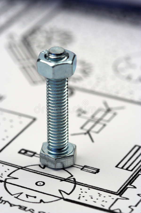 Free Nut And Bolt Royalty Free Stock Image - 5644456