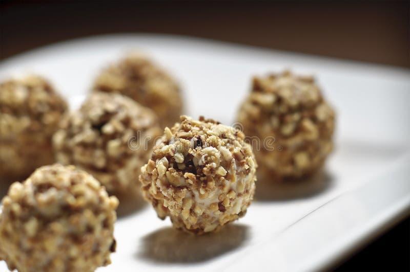 Nut balls royalty free stock photo