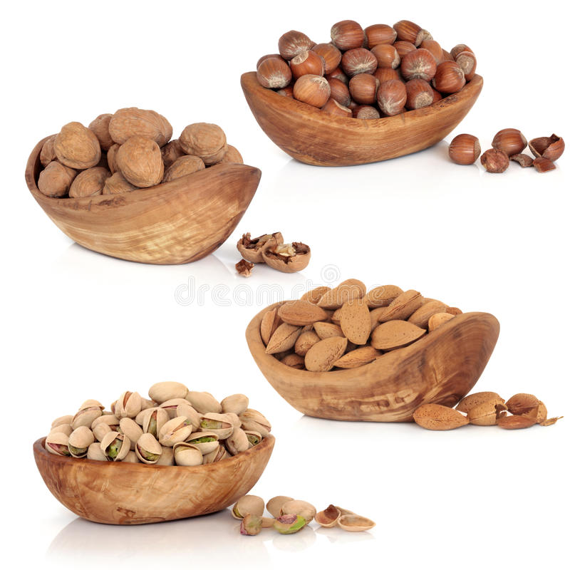 Nut Collection stock photography
