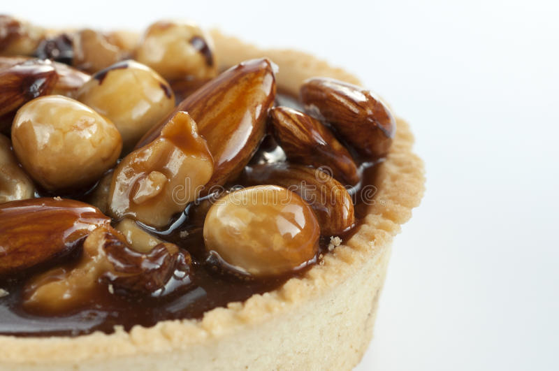 Download Nut pie stock photo. Image of almonds, hazelnut, sweet - 17050952