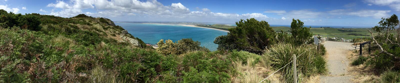 The Nut Reserve in Stanley Tasmania royalty free stock photography