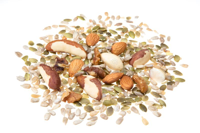 Nut and seed selection