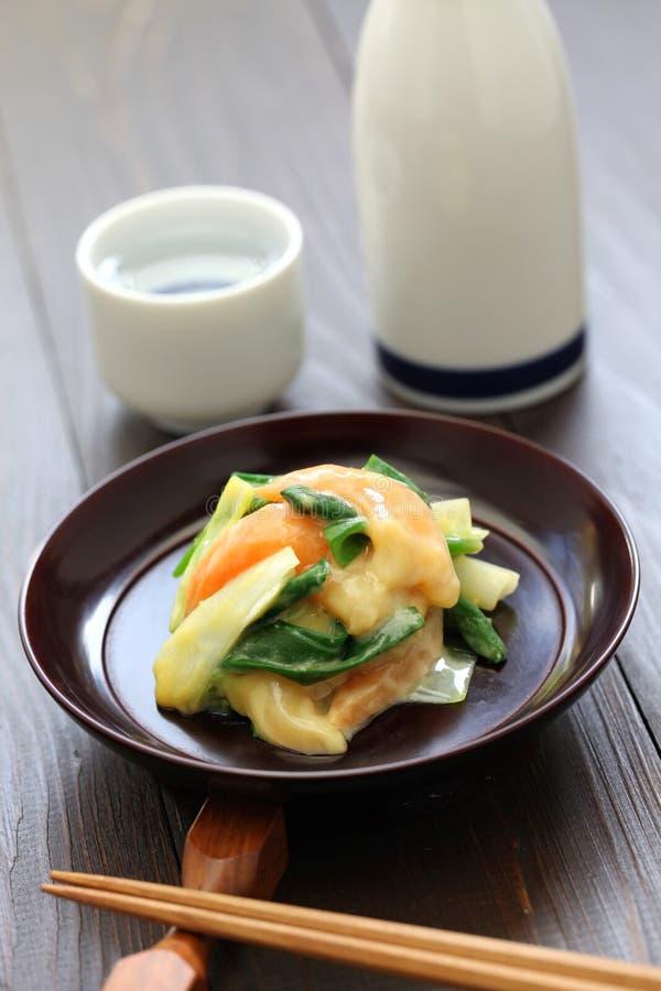 Nuta de Aoyagi, culinária japonesa fotos de stock