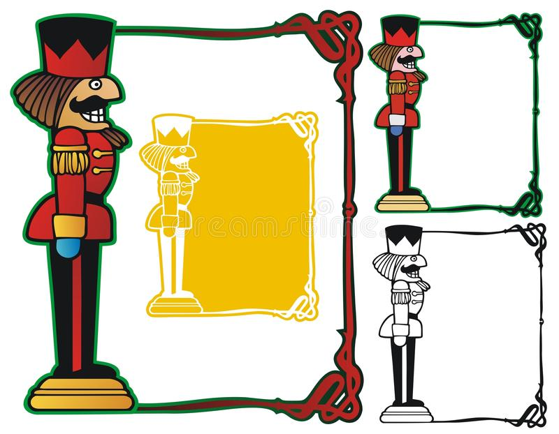 Nutcracker Border stock illustration