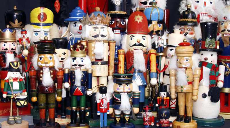 Nutcracker Collection royalty free stock images