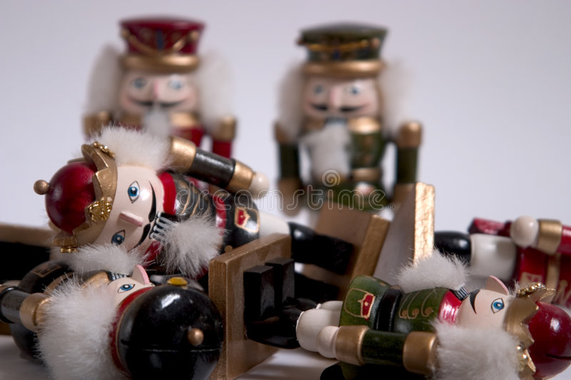 Download Nutcracker Rumble stock photo. Image of yuletide, mess - 313644