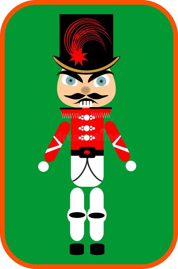 Download Nutcracker soldier stock vector. Image of uniform, christmas - 28074751