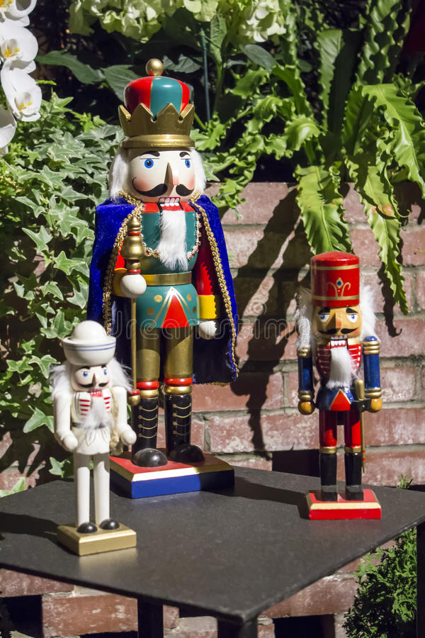 Nutcracker Soldiers royalty free stock image