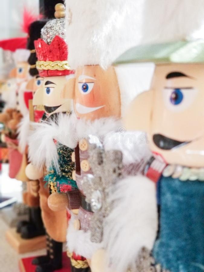 Nutcrackers stock images