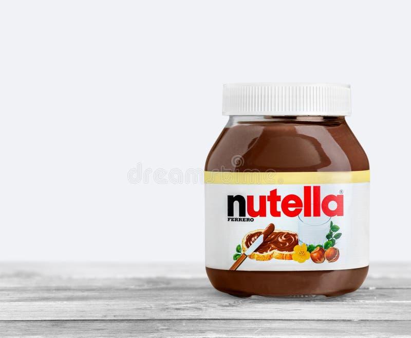 Nutella lizenzfreies stockbild