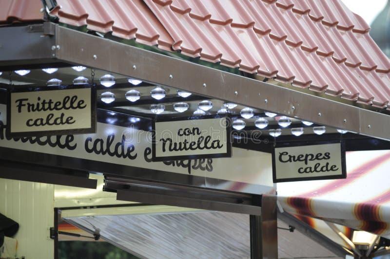 Nutella royalty-vrije stock foto
