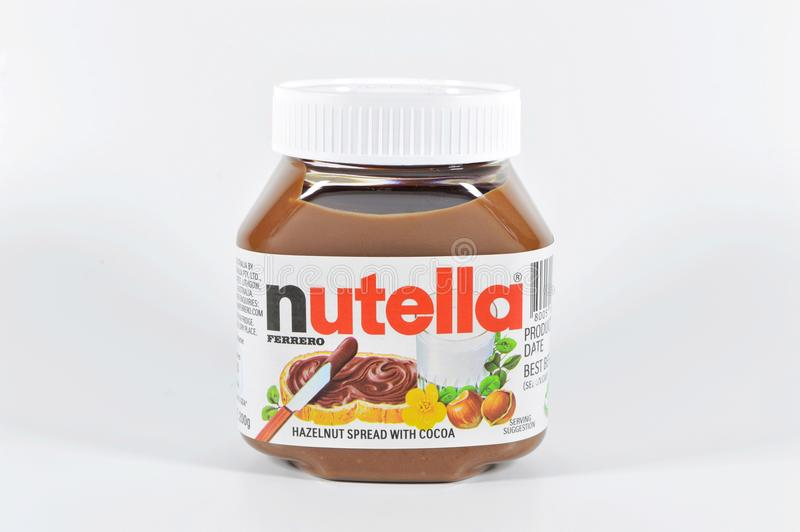 Nutella 免版税库存照片