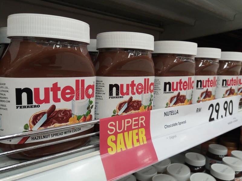 Nutella στοκ φωτογραφία με δικαίωμα ελεύθερης χρήσης
