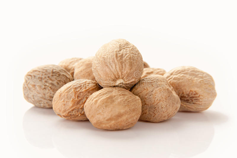 Download Nutmeg stock photo. Image of nutmeg, herb, grated, close - 22805846