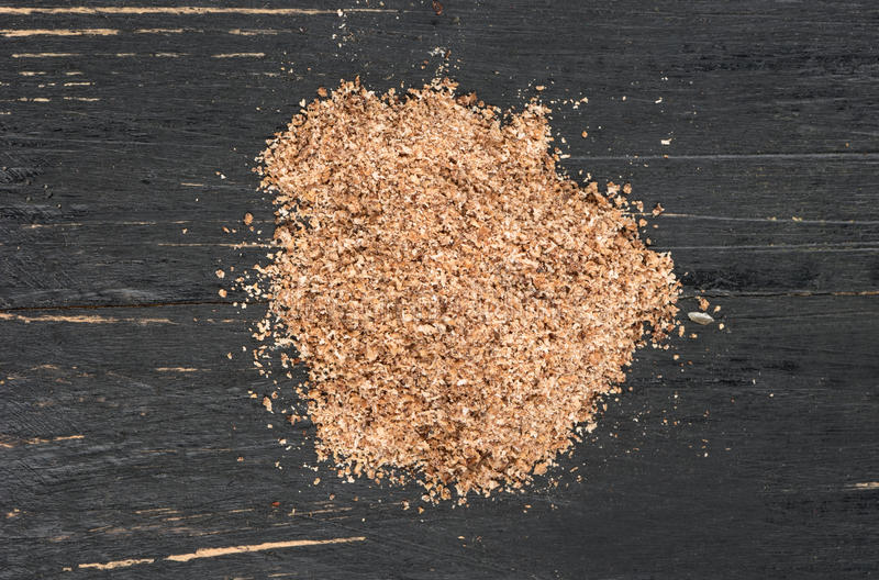 Nutmeg powder royalty free stock images