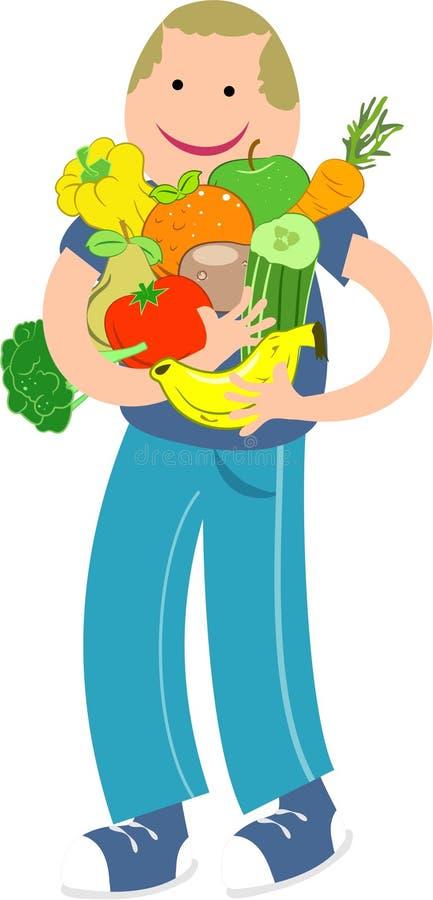 Nutrición ilustración del vector