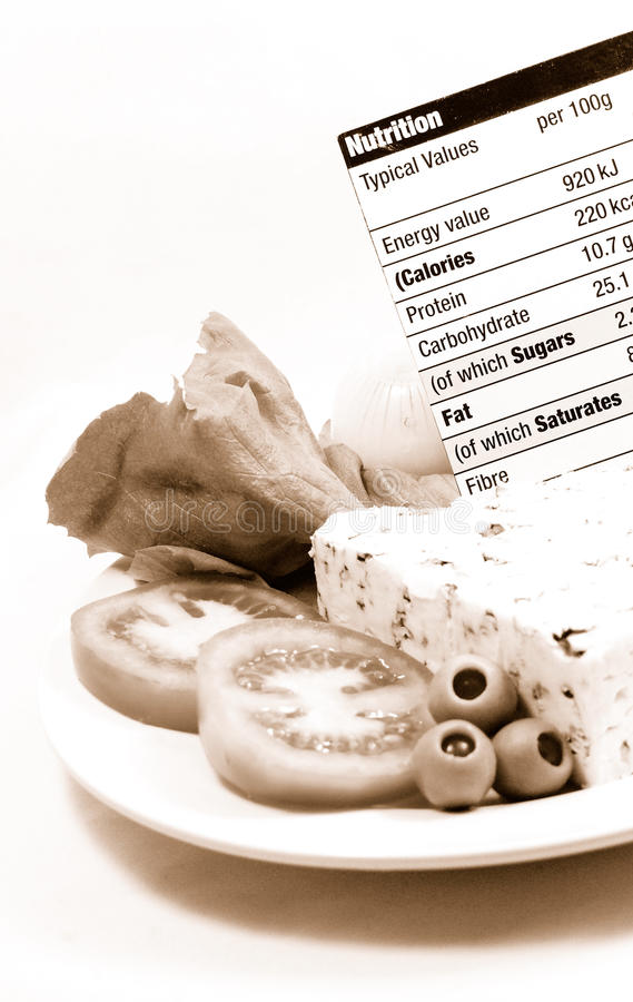 Nutrition calculator stock images
