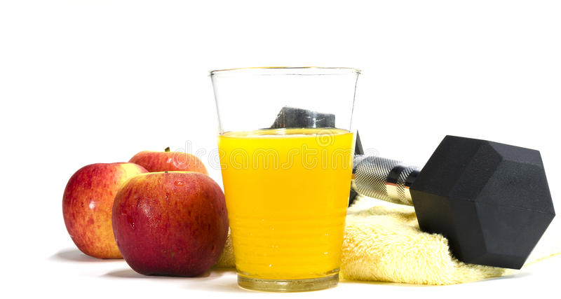 Nutrition et exercice image stock