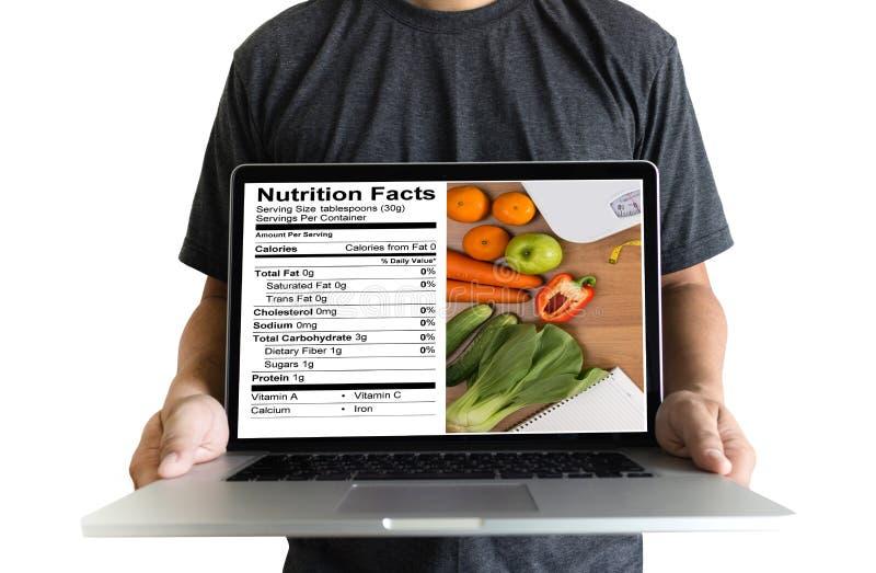 Nutrition gratuite de maladie coeliaque de nourriture de gluten de faits de nutrition, Hea photos stock