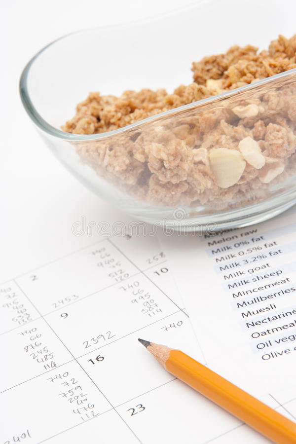 Download Daily Nutrition Intake Control Stock Photo - Image: 23622228