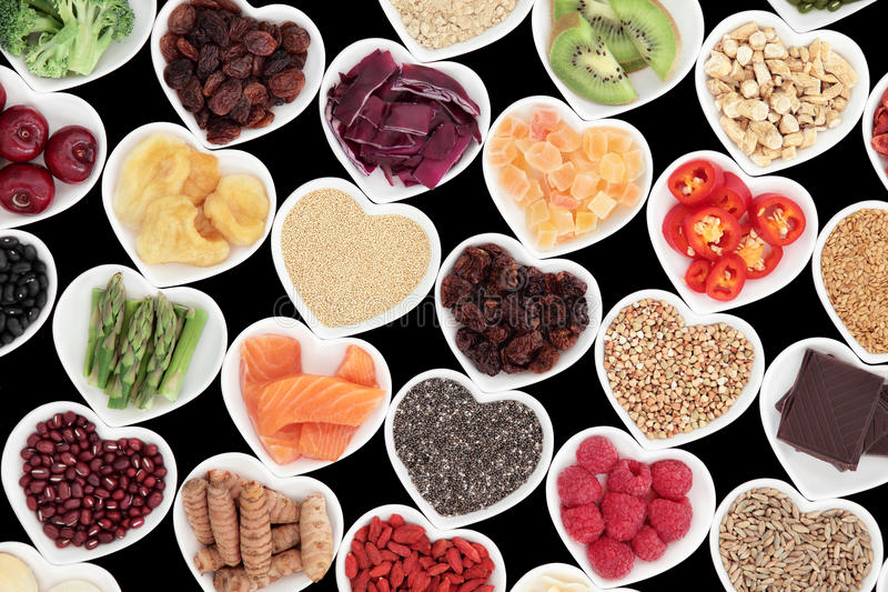 Nutrition saine image stock