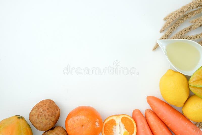 Nutrition végétale saine et médicament de régime de régime Ketogenic sain de bien-être image libre de droits