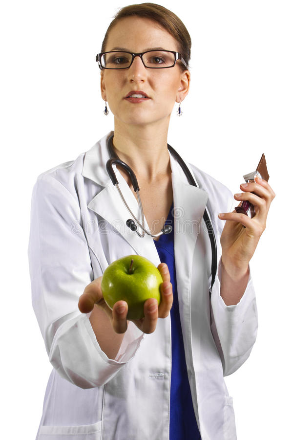 Download Nutritionist stock photo. Image of clinic, green, caucasian - 26072594
