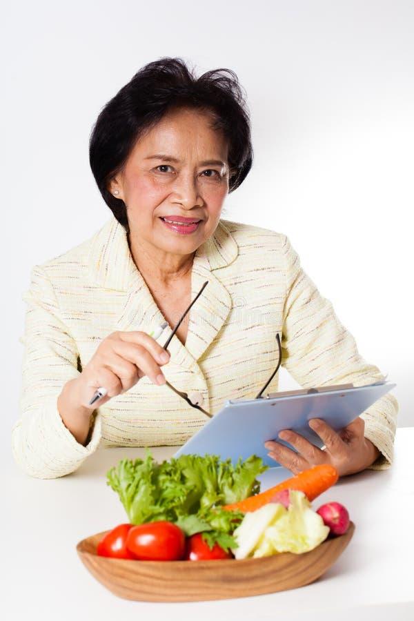 nutritionist стоковая фотография