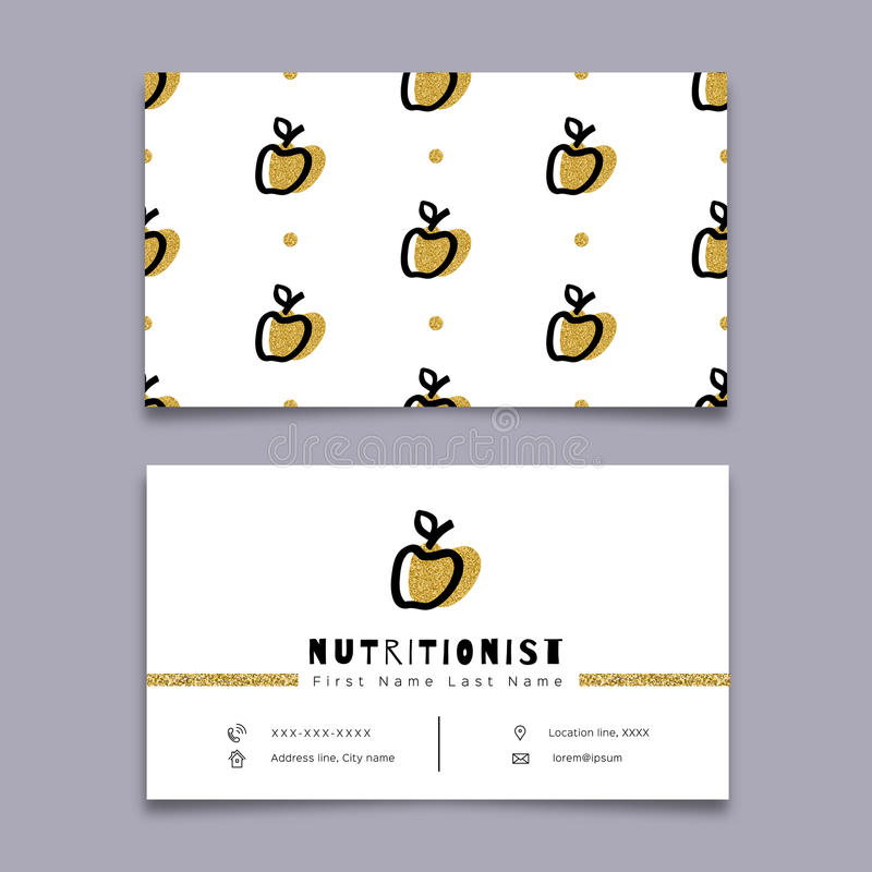 Nutritionist business card dietitian trendy symbol apple modern download nutritionist business card dietitian trendy symbol apple modern minimal design stock vector colourmoves