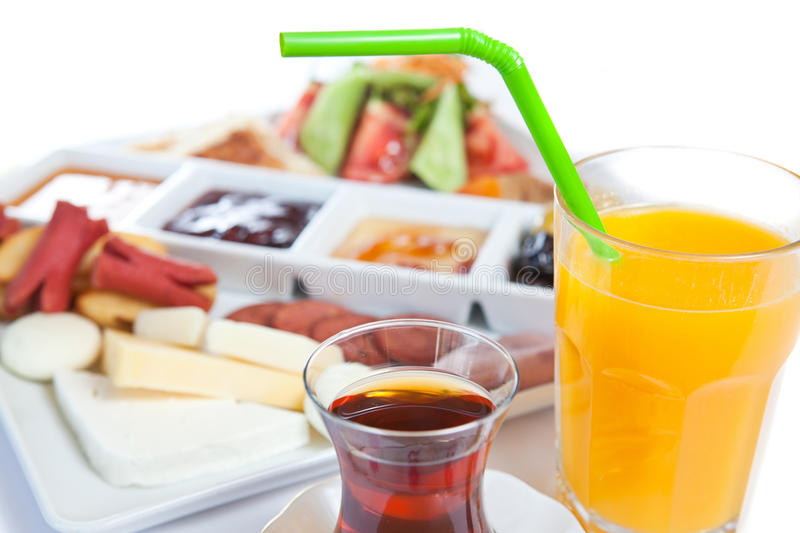 Download Nutritious breakfast stock image. Image of garnished - 28450361