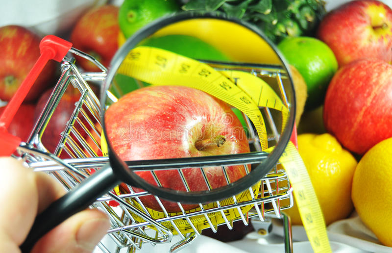 Nutrizione fotografia stock
