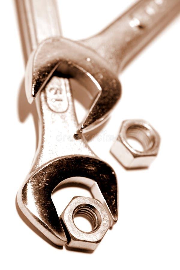 nuts ключи стоковая фотография rf