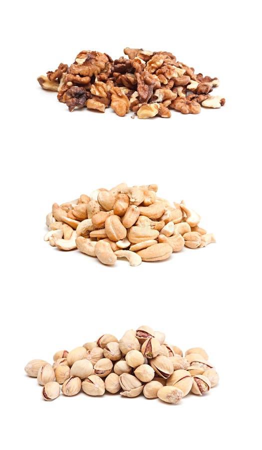 Download Nuts. stock image. Image of macro, large, gourmet, pile - 17435993