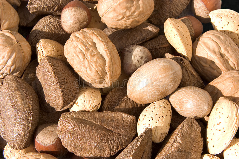 Nuts 2 stock photos