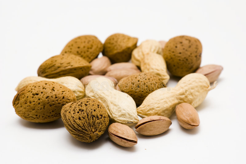 Nuts royalty free stock image