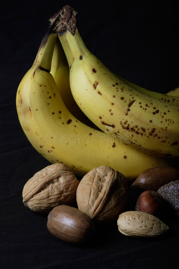 Free Nuts And Bananas Stock Images - 369104