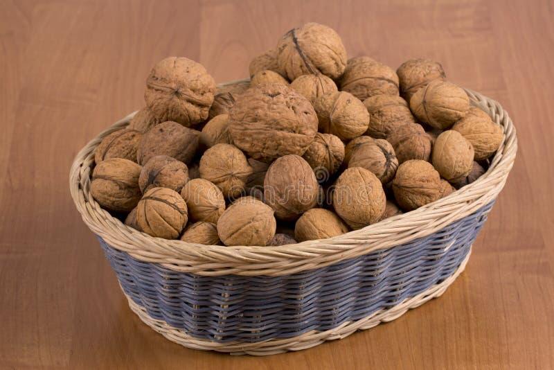 Download Nuts in a basket stock image. Image of fruit, hazelnut - 35745683