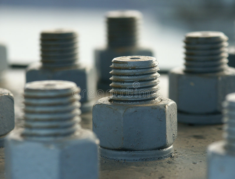 Download Nuts and bolts stock photo. Image of fasteners, threads - 184530