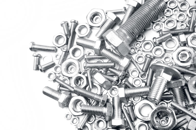 Download Nuts and bolts stock photo. Image of supplies, bolts - 28706200