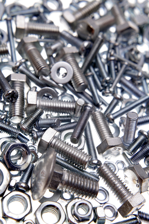 Download Nuts & Bolts Royalty Free Stock Image - Image: 3395316