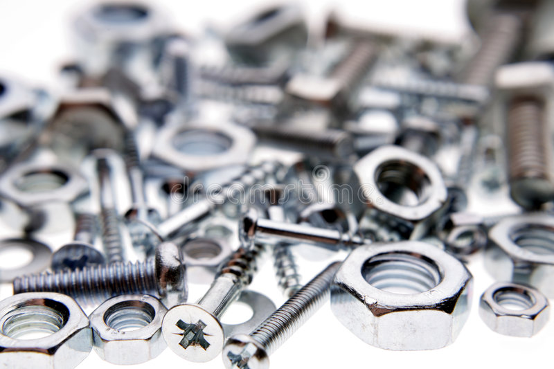 Download Nuts & bolts stock photo. Image of iron, supplies, steel - 3579944