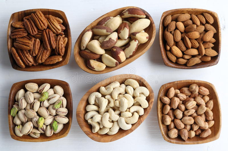 Download Nuts. stock image. Image of variety, hazelnut, pine, ingredients - 83717999